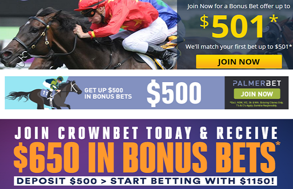 Sports betting bonuses Australia