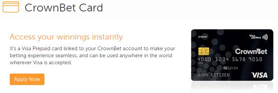 CrownBet Card ATM