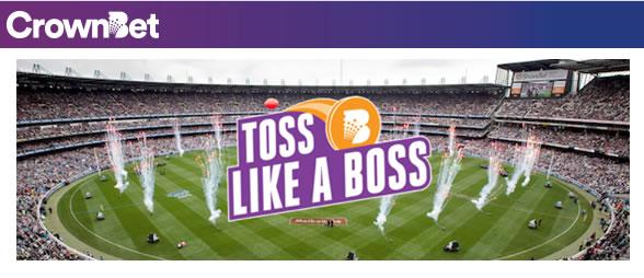 CrownBet Toss Like a Boss