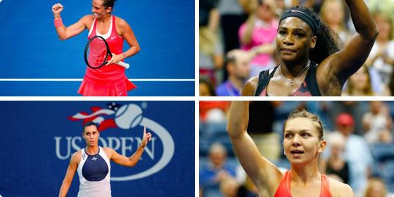 US Open Women's Semis