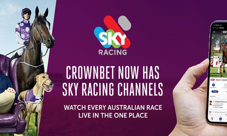 CrownBet Sky Racing