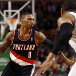 Damien Lillard Portland NBA