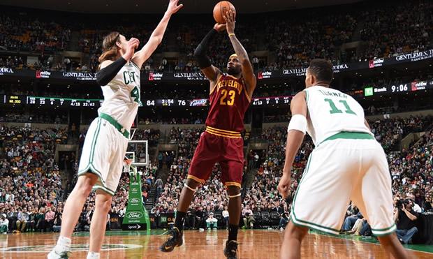 NBA Boston vs Cleveland