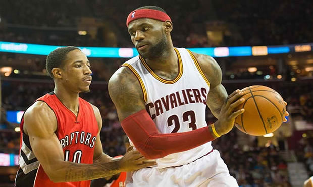 Toronto Cleveland NBA