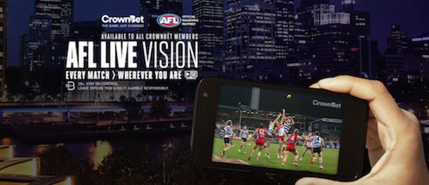 AFL live Vision 2016