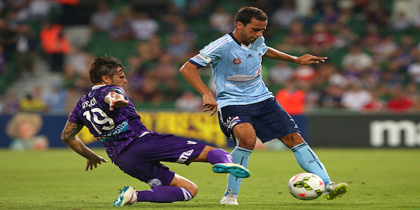 A-League Rd 16 - Perth v Sydney