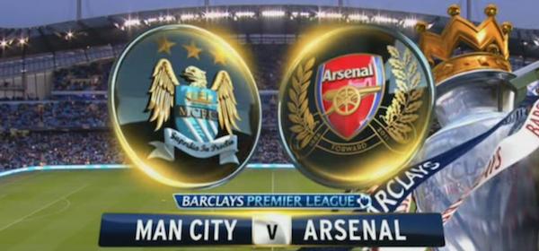 Man City Arsenal EPL