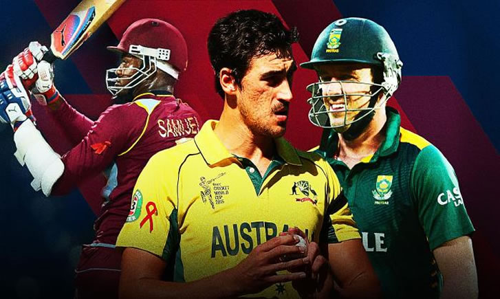 Australia in West Indies Tri-Nation Series