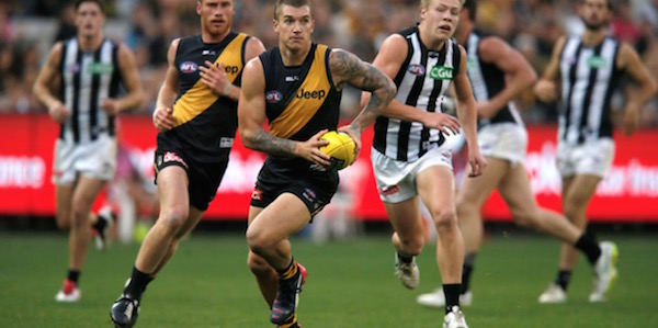 2016 AFL Round 20 Betting