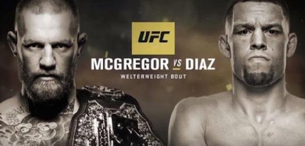 UFC 202 McGregor Diaz
