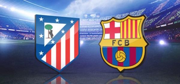 La Liga Barcelona vs Atletico Madrid