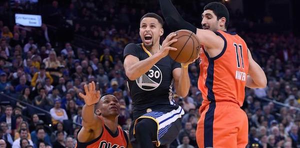 NBA Betting Warriors Thunder