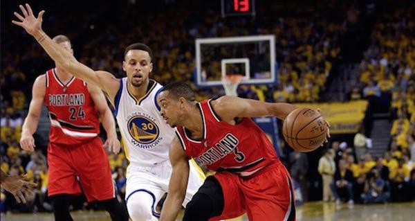 Warriors Trail Blazers Betting NBA